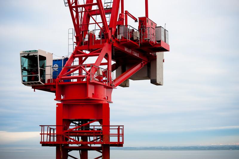 Фото самые большие башенные краны